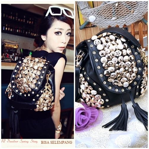 JT9067 IDR.165.000 MATERIAL PU SIZE L29XH21CM WEIGHT 700GR COLOR BLACK