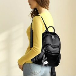 JT9138-black Tas Ransel Fashion Import Terbaru Wanita