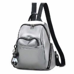 JT9138-silver Tas Ransel Fashion Import Terbaru Wanita