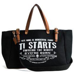 JT9180-black Tas Tote Bag Casual Modis Import