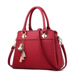 JT91849-red Tas Handbag Selempang Wanita Elegan Terbaru