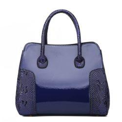 JT922-blue Tas Selempang Glossy Import Elegan