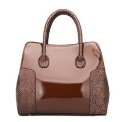 JT922-brown Tas Selempang Glossy Import Elegan