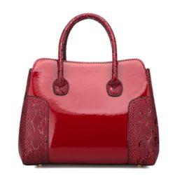 JT922-red Tas Selempang Glossy Import Elegan