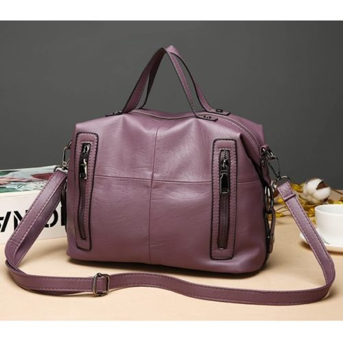JT927-purple  Tas Handbag Wanita Modis Terbaru