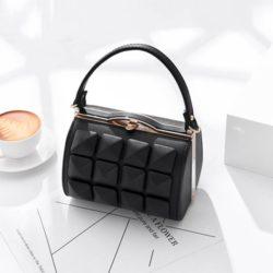 JT92969-black Tas Selempang Rubic Import Wanita Cantik