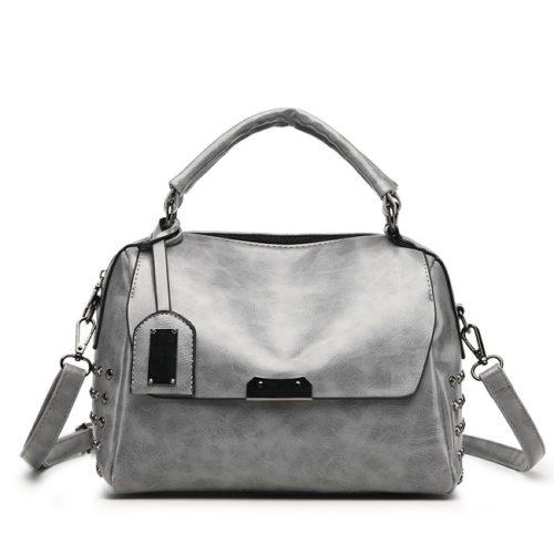 JT930-gray Tas Handbag Wanita Modis Kekinian Import