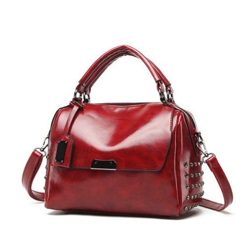 JT930-red Tas Handbag Wanita Modis Kekinian Import