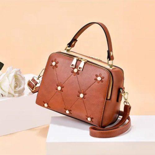 JT9371-brown Tas Selempang Fashion Modis Import Terbaru
