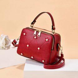 JT9371-red Tas Selempang Fashion Modis Import Terbaru