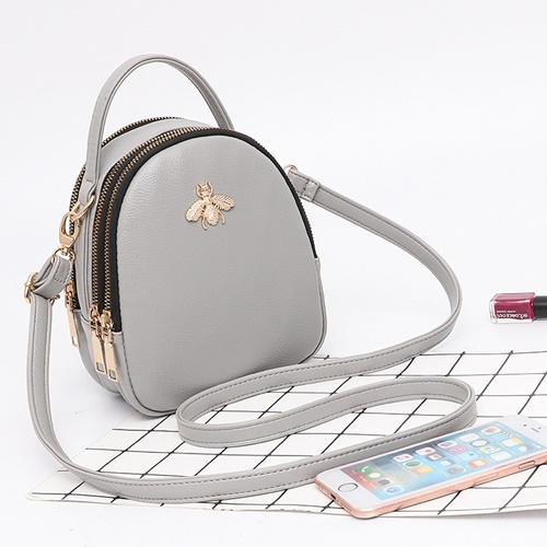 JT9380 IDR.140.000 MATERIAL PU SIZE L15XH18.5XW8CM WEIGHT 500GR COLOR GRAY