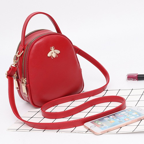 JT9380 IDR.140.000 MATERIAL PU SIZE L15XH18.5XW8CM WEIGHT 500GR COLOR RED