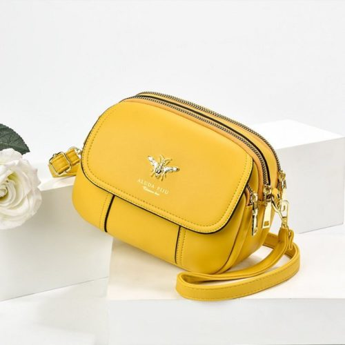 JT93886 IDR.165.000 MATERIAL PU SIZE L21XH16XW7CM WEIGHT 450GR COLOR YELLOW