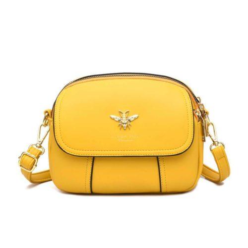 JT93886-yellow Tas Selempang Import Wanita Cantik Terbaru