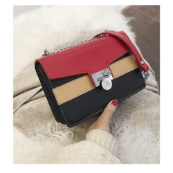 JT942-black Clutch Bag Selempang Fashion Import Terbaru