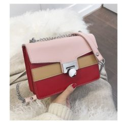 JT942-red Clutch Bag Selempang Fashion Import Terbaru