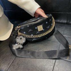JT94210-black Tas Waist Bag Wanita Cantik Import Terbaru