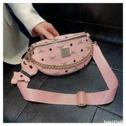 JT94210-pink Tas Waist Bag Wanita Cantik Import Terbaru