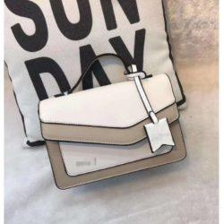 JT9603-white Tas Selempang Modis Wanita Cantik Import Terbaru