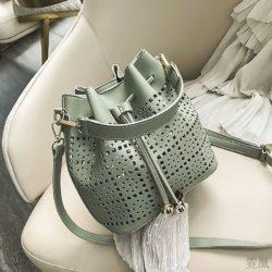 JT9643-green Tas Serut Selempang Fashion Import Wanita