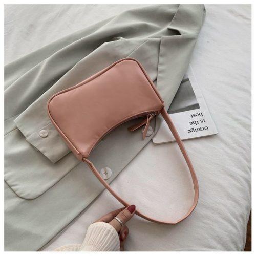 JT9673-pink Tas Shoulder Bag Wanita Cantik Import