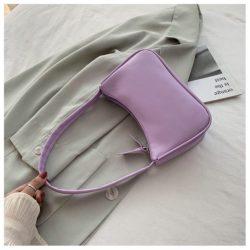 JT9673-purple Tas Shoulder Bag Wanita Cantik Import
