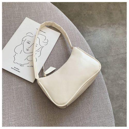 JT9673-white Tas Shoulder Bag Wanita Cantik Import