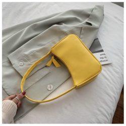 JT9673-yellow Tas Shoulder Bag Wanita Cantik Import