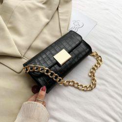 JT9726-black Tas Clutch Handbag Elegan Wanita Cantik