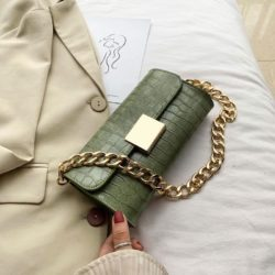 JT9726-green Tas Clutch Handbag Elegan Wanita Cantik