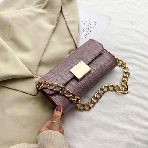 JT9726-purple Tas Clutch Handbag Elegan Wanita Cantik