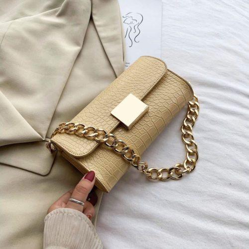 JT9726-yellow Tas Clutch Handbag Elegan Wanita Cantik
