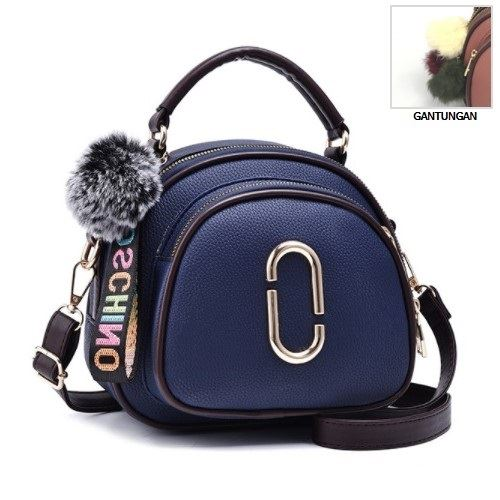 JT97658 IDR.162.000 MATERIAL PU SIZE L20XH18XW8CM WEIGHT 550GR COLOR BLUE