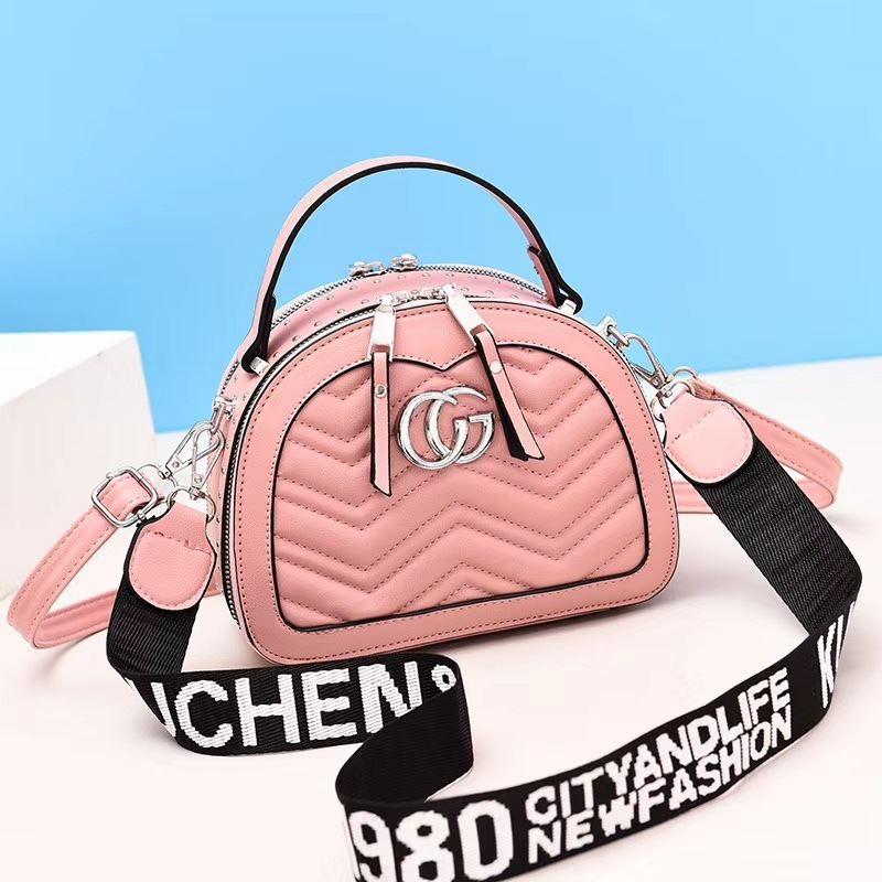Jual JT9812-pink Tas Selempang Mini Wanita Cantik Kekinian ...