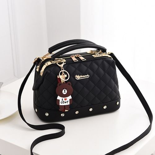 JT98723 IDR.170.000 MATERIAL PU SIZE L24.5XH17XW13CM WEIGHT 650GR COLOR BLACK