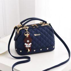 JT98723-blue Doctor Bag Stylish Import Cantik