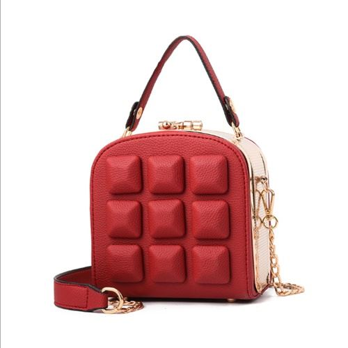 JT98876 IDR.175.000 MATERIAL PU SIZE L15.5XH16XW8.5CM WEIGHT 800GR COLOR WINE