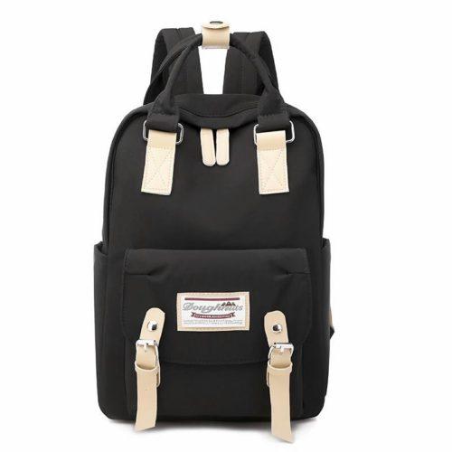 JT9909-black Tas Ransel Fashion Unisex Modis Terbaru