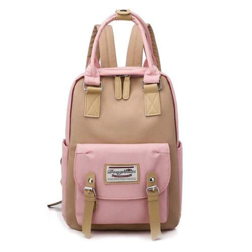 JT9909-pink Tas Ransel Fashion Unisex Modis Terbaru