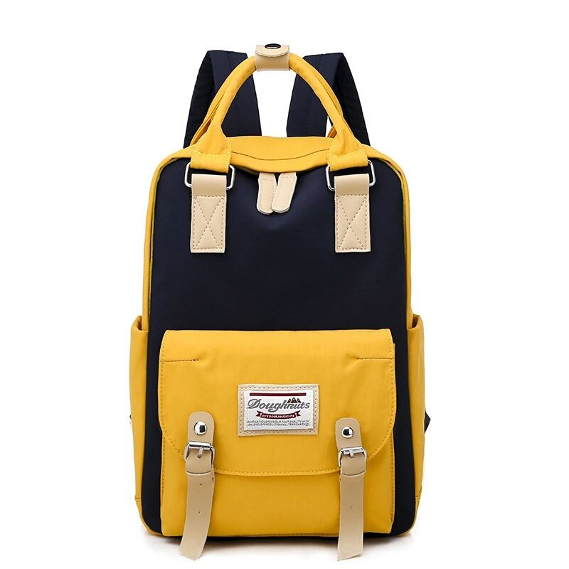 JT9909 IDR.182.000 MATERIAL OXFORD SIZE L27XH35XW12CM WEIGHT 400GR COLOR YELLOW