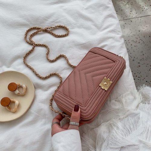 JT992234-pink Tas Slingbag Pesta Elegan Import Terbaru
