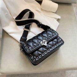 JT9944-black Tas Selempang Fashion Import Wanita Cantik Terbaru