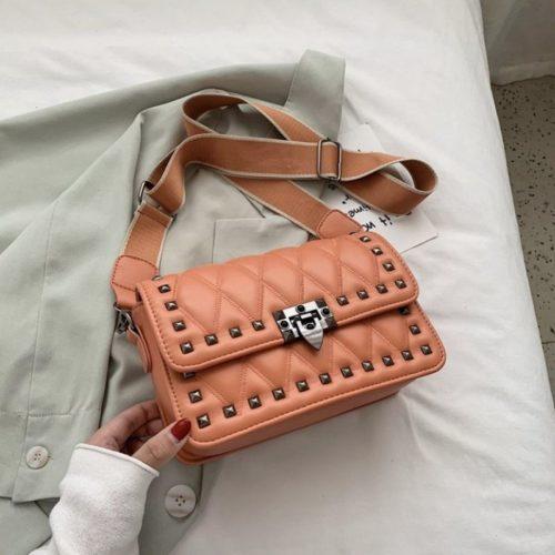 JT9944-brown Tas Selempang Fashion Import Wanita Cantik Terbaru