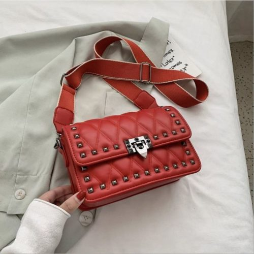 JT9944-red Tas Selempang Fashion Import Wanita Cantik Terbaru