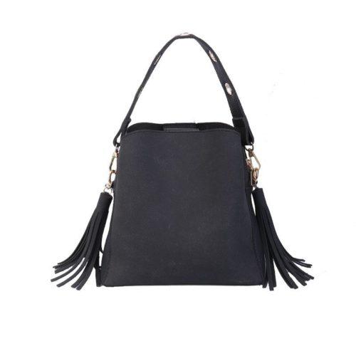JT9958-black Tas Selempang Cantik Import Wanita Elegan