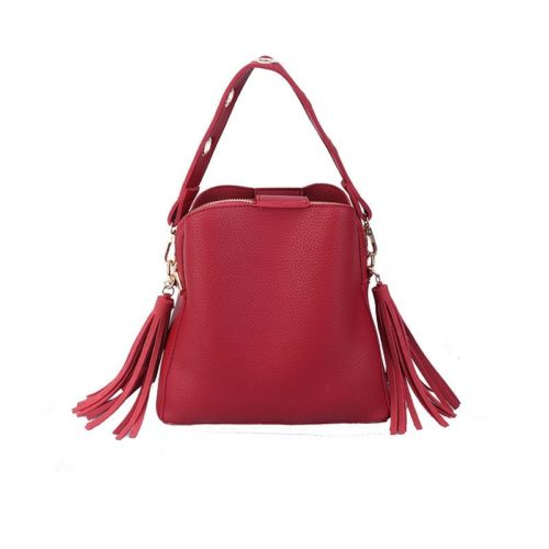 JT9958-red Tas Selempang Cantik Import Wanita Elegan