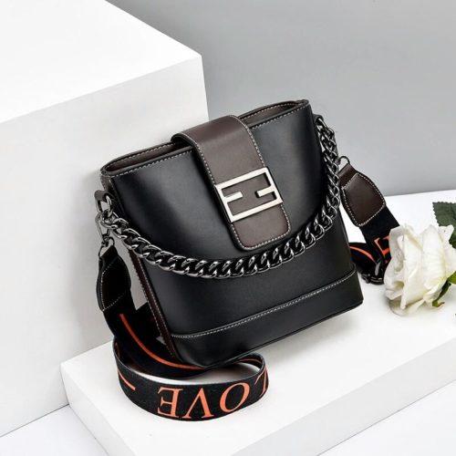 JT9963-black Tas Selempang Wanita Cantik Import Terbaru