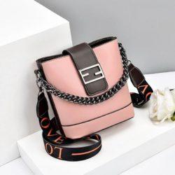 JT9963-pink Tas Selempang Wanita Cantik Import Terbaru