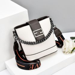 JT9963-white Tas Selempang Wanita Cantik Import Terbaru
