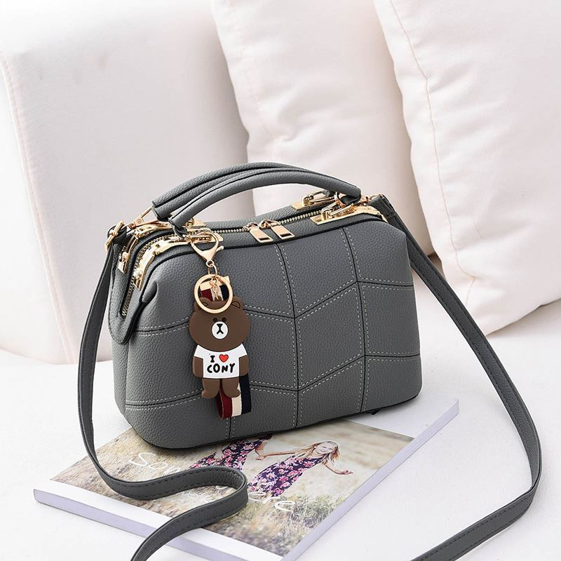 JT99870 IDR.180.000 MATERIAL PU SIZE L24.5XH15XW13CM WEIGHT 700GR COLOR GRAY